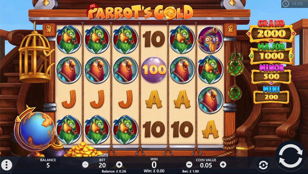 parrots gold screenshot
