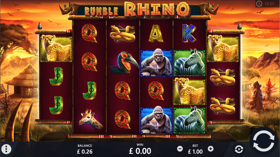 rumble rhino screenshot