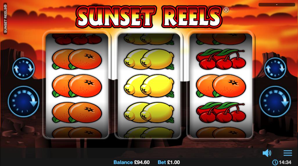 sunset reels screenshot