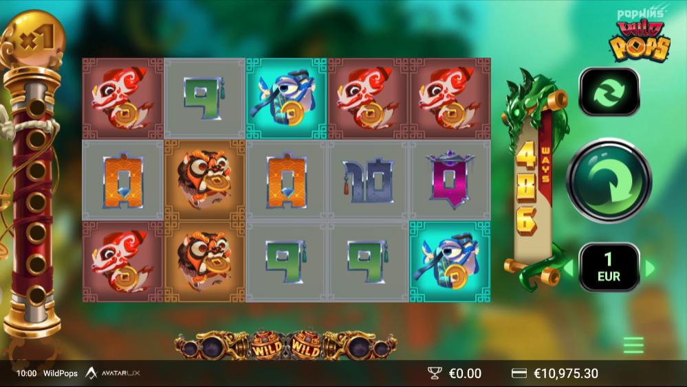 wild pops screenshot