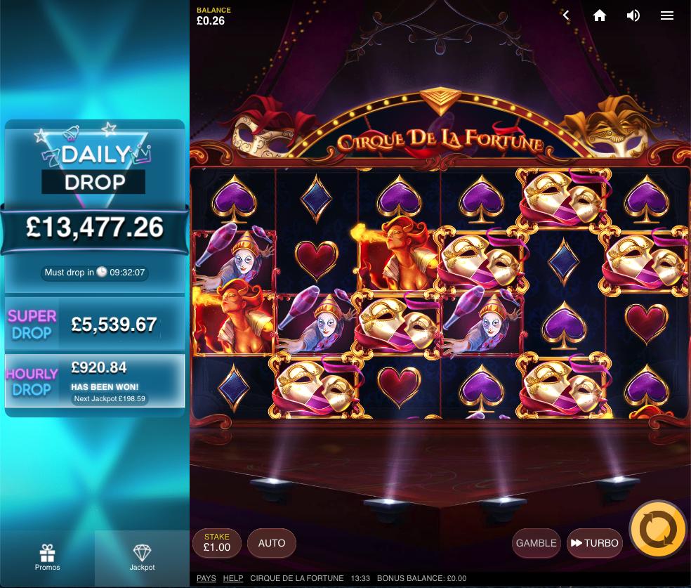 cirque de la fortune screenshot