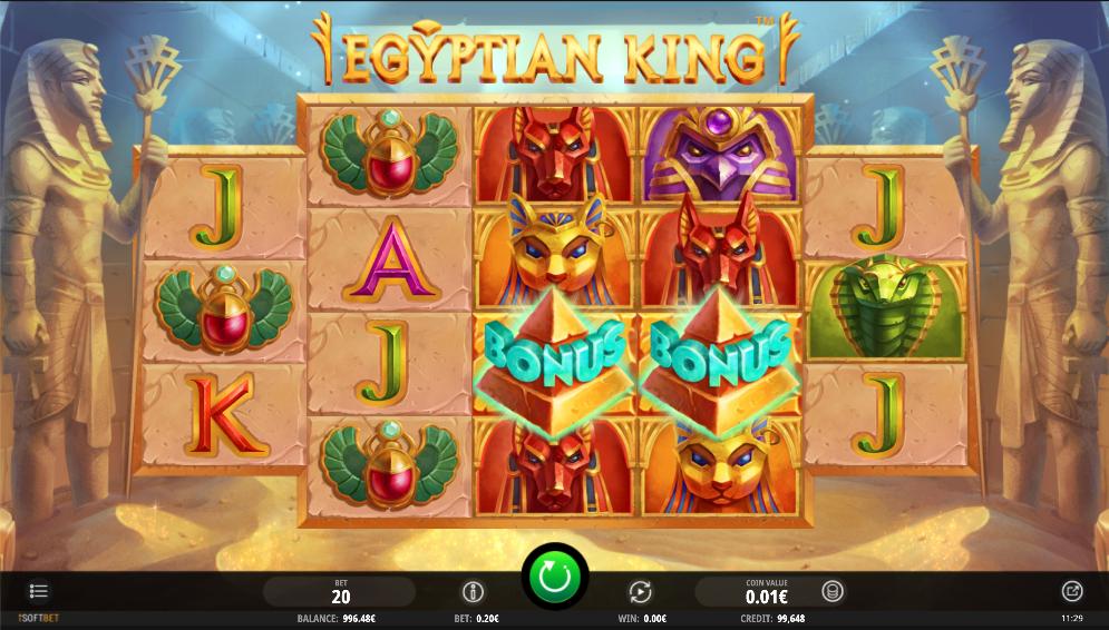 egyptian king screenshot