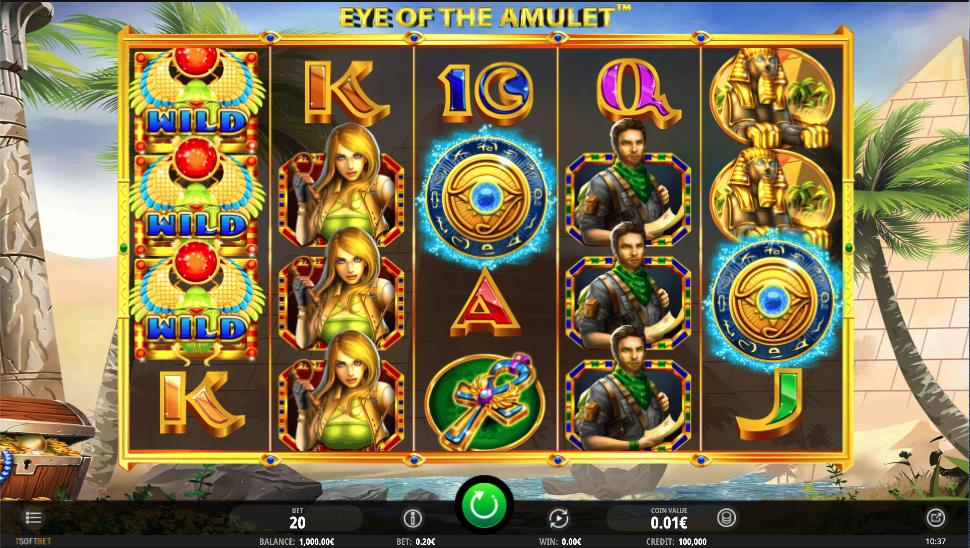 eye of the amulet screenshot