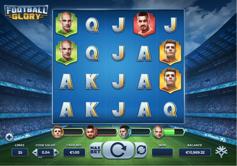 football glory screenshot