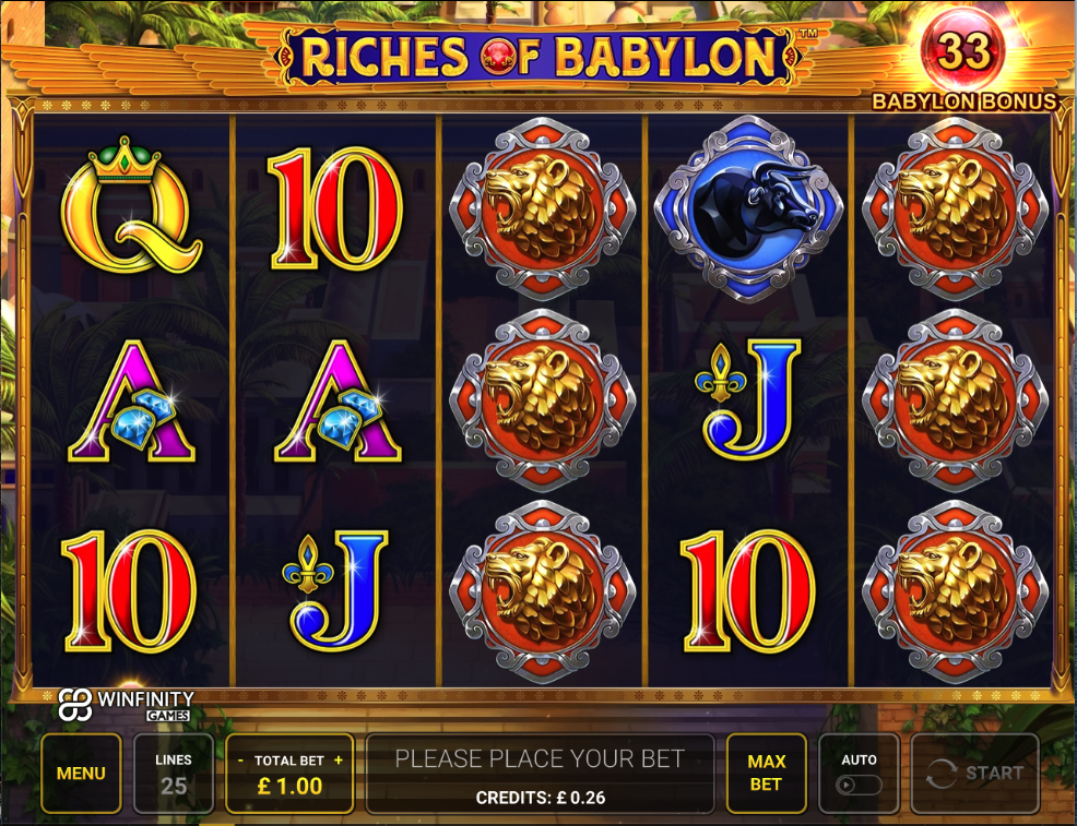 riches of babylon screenshot