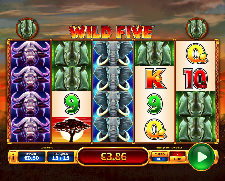wild five screenshot