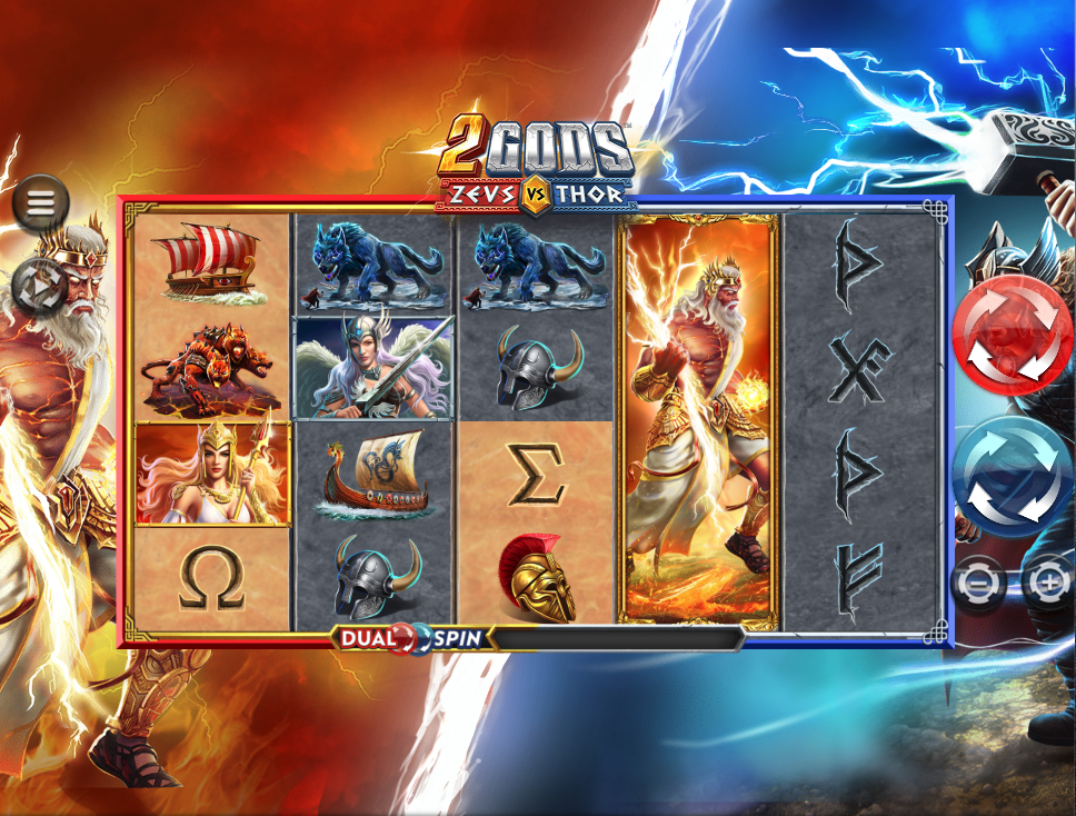 2 gods zeus vs Thor screenshot