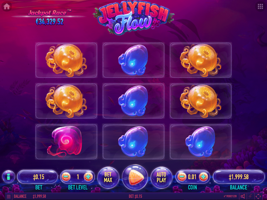 jellyfish flow screenshot