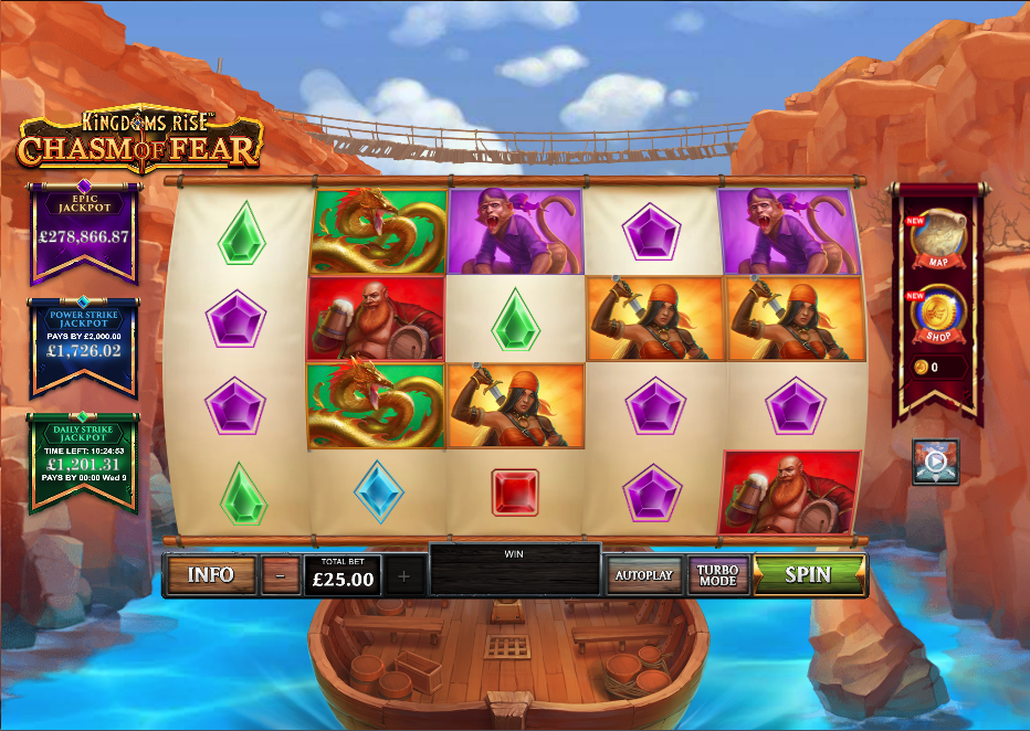 chasm of fear screenshot