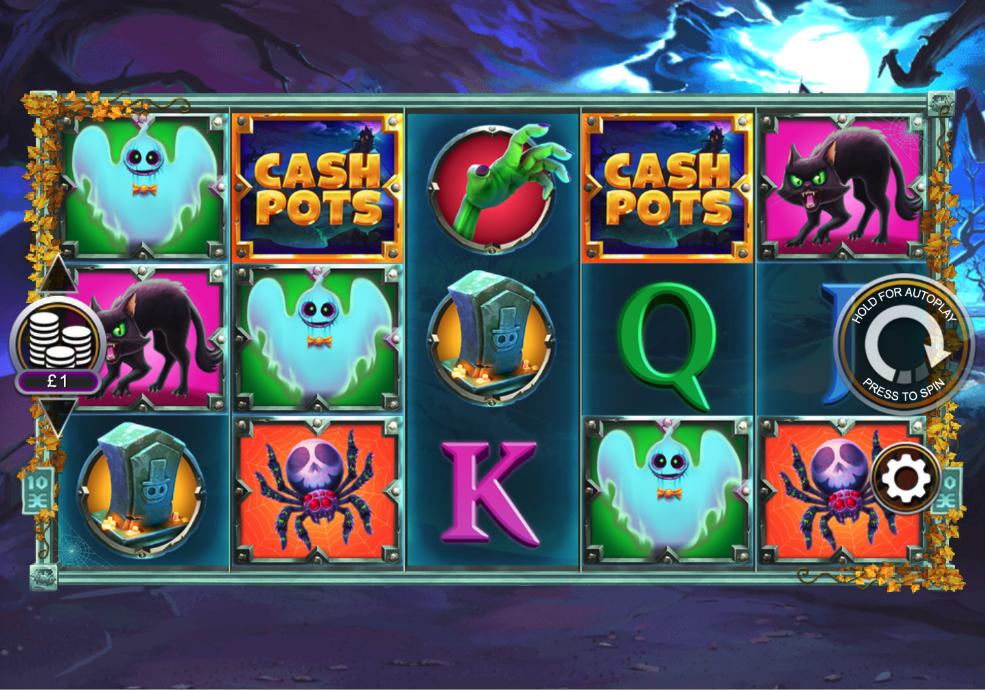 halloween cashpots screenshot