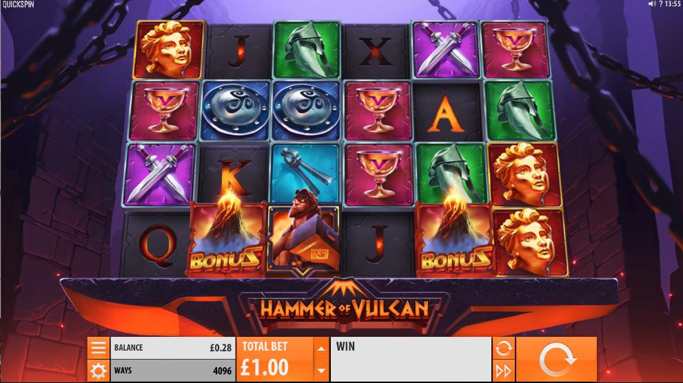 hammer of vulcan screenshot