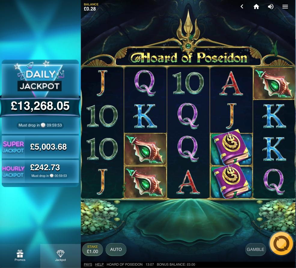 hoard of Poseidon screenshot