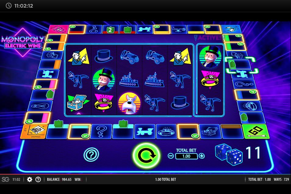monopoly electric wins screenshot