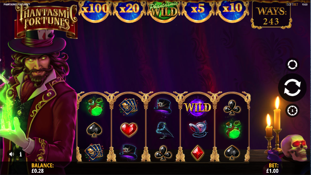 phantasmic fortunes screenshot