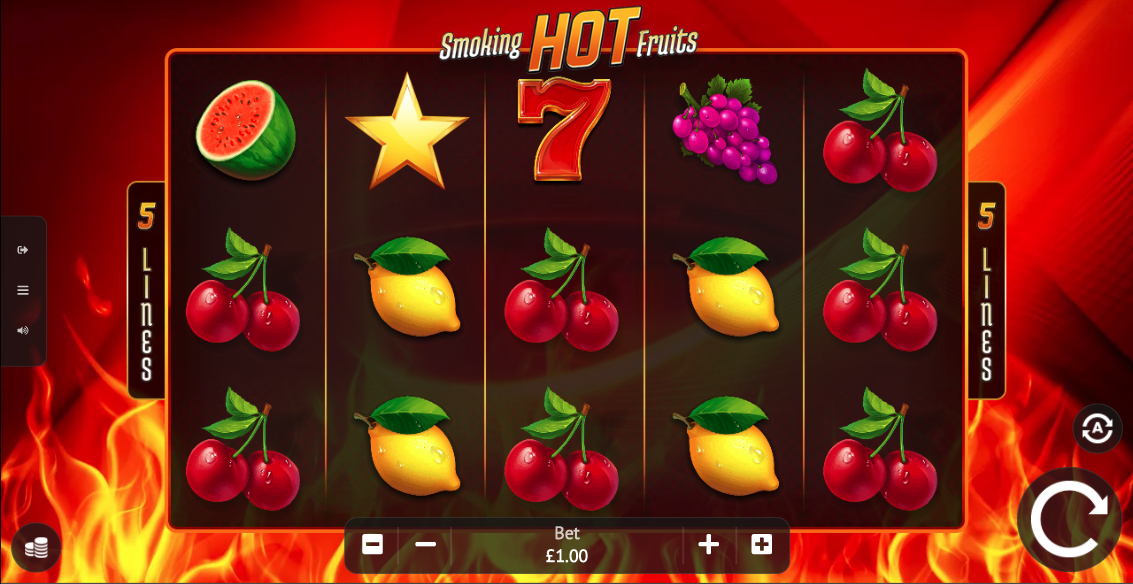 smoking hot fruits screenshot