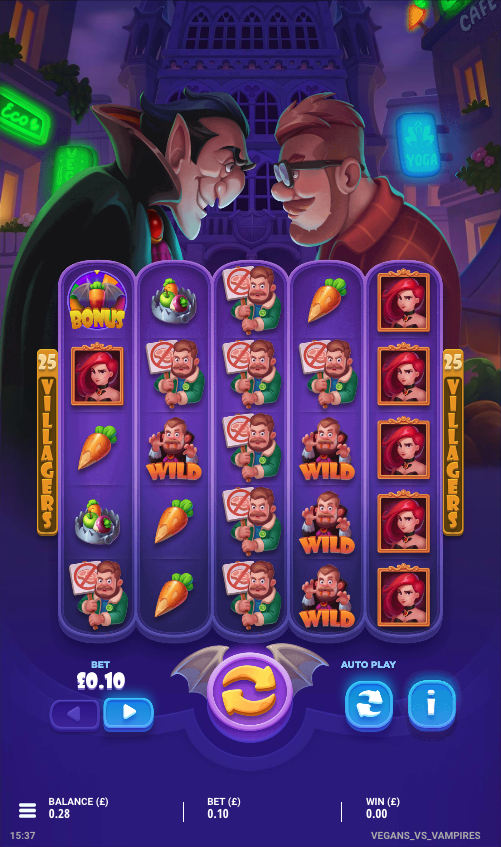 vegans vs vampires screenshot