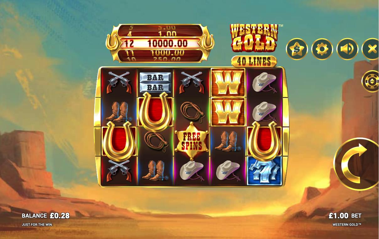 western gold screenshot