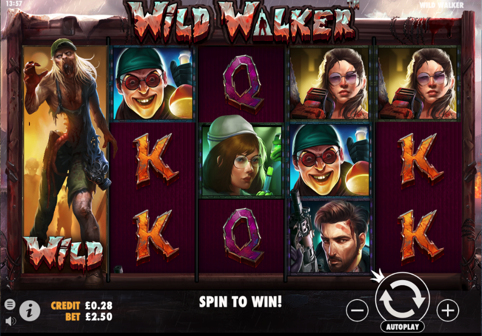 wild walker screenshot