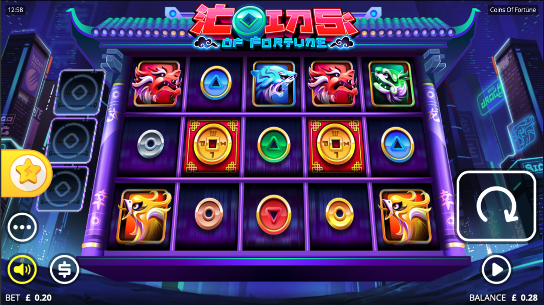 coins of fortune screenshot