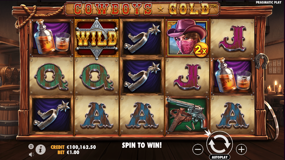 cowboys gold screenshot