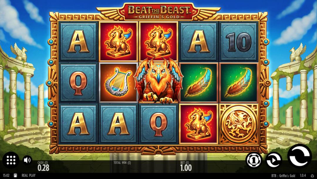 beat the beast griffins gold screenshot