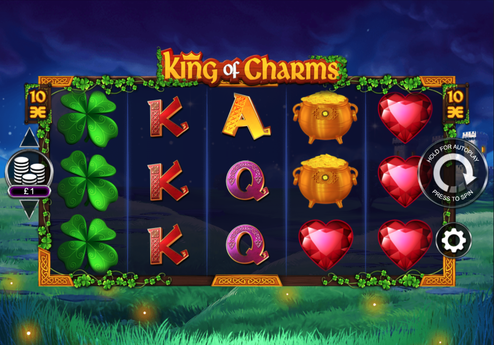 king of charms screenshot