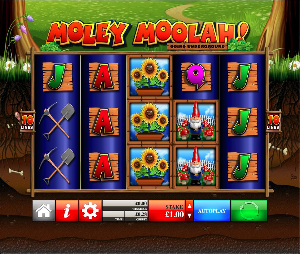 moley moolah! screenshot