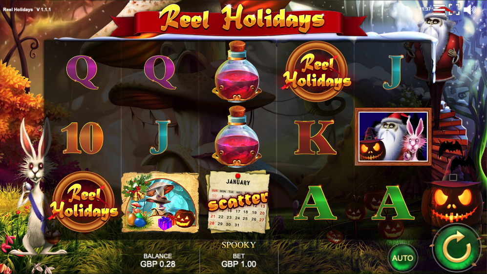 reel holidays screenshot