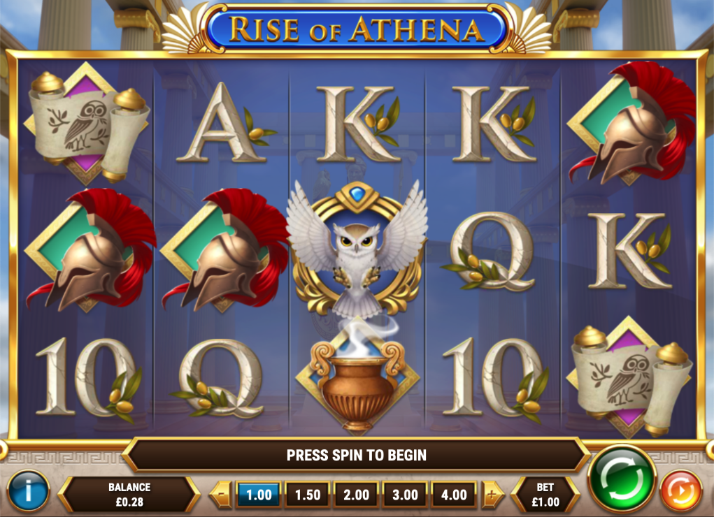rise of athena screenshot