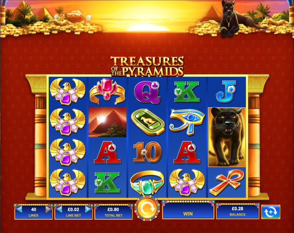 treasures of the pyramids screenshot