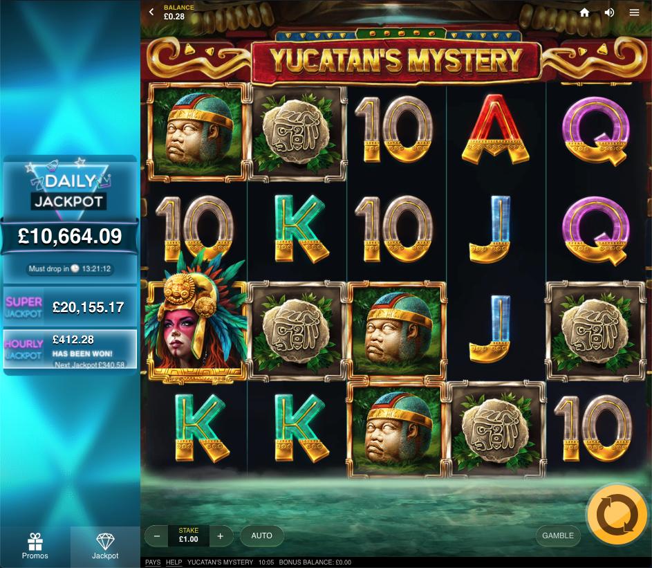 Yucatan's mystery screenshot