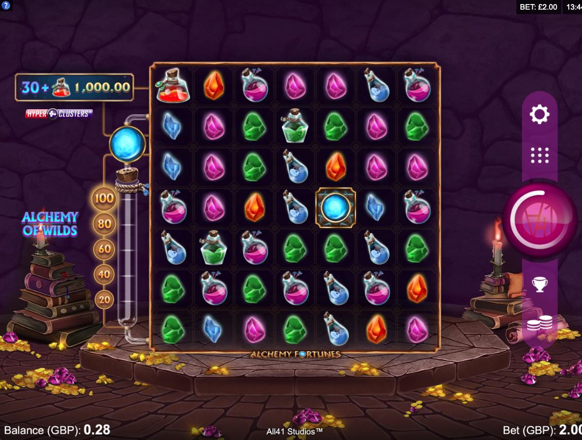 alchemy fortunes screenshot