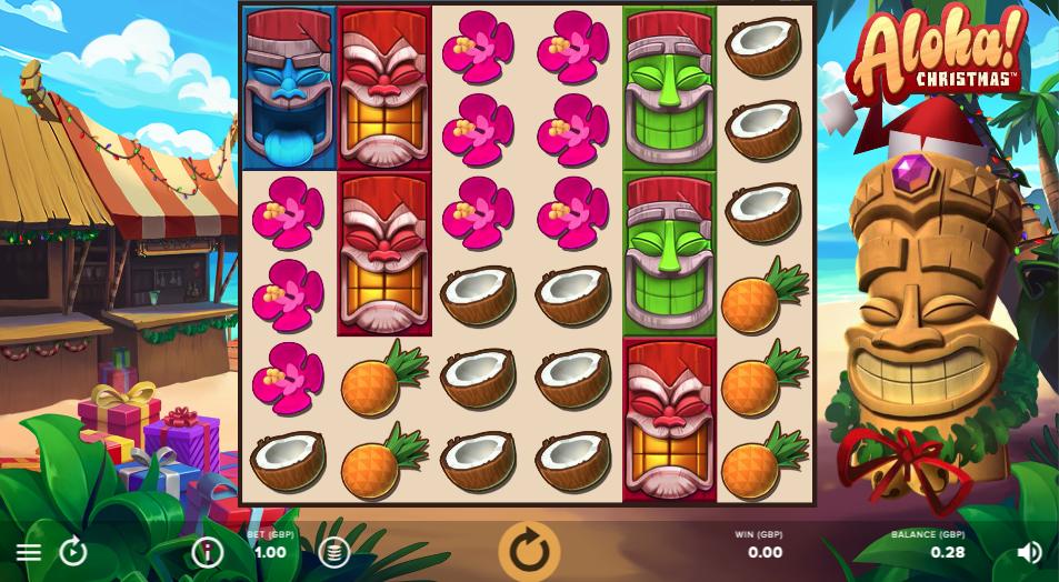 aloha xmas screenshot
