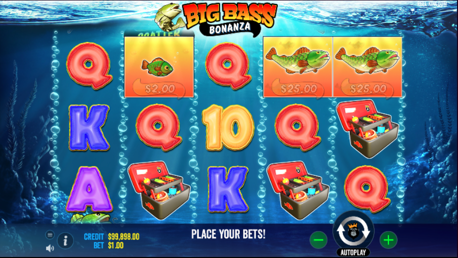 big bass bonanza screenshot