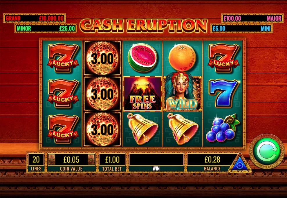 cash eruption screenshot