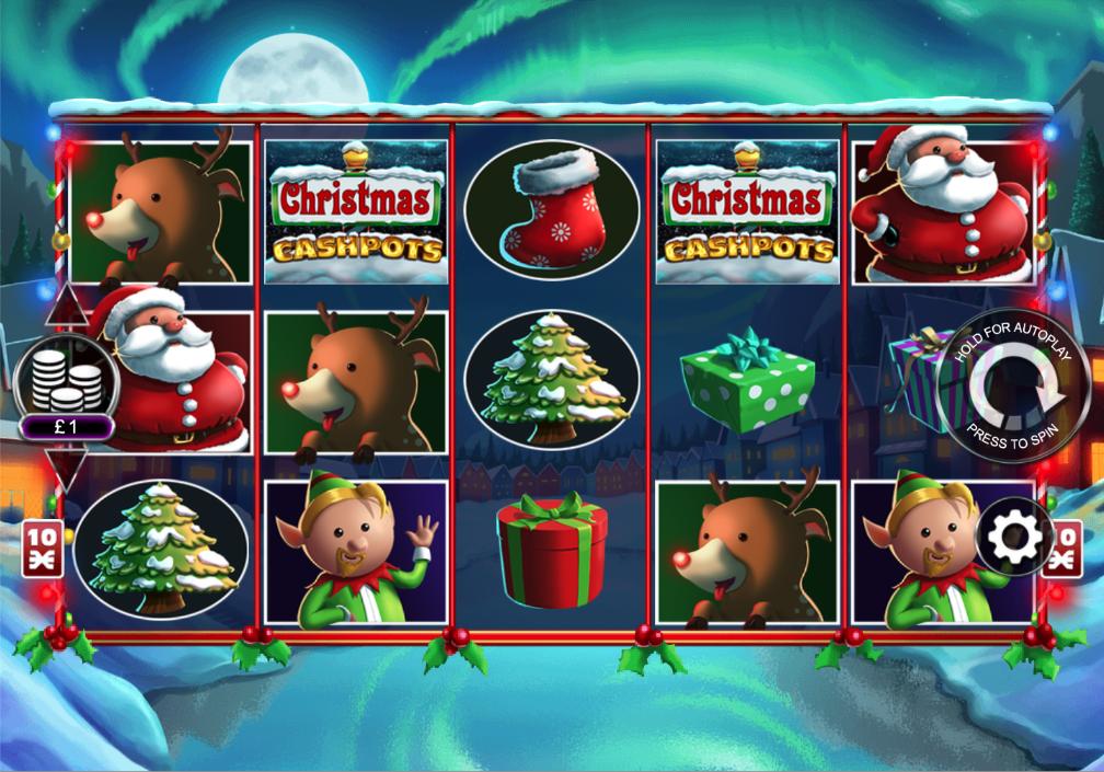 christmas cashpots screenshot