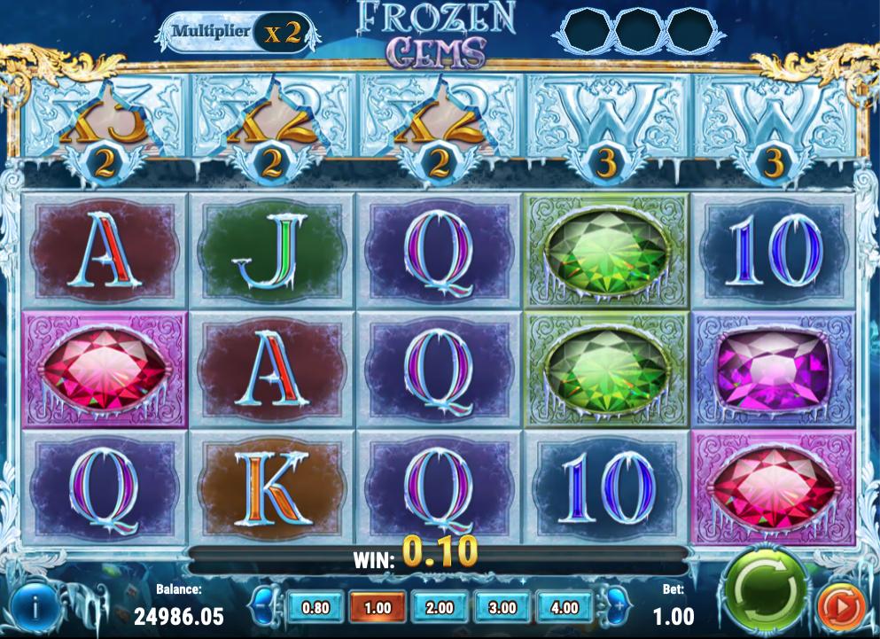 frozen gems screenshot
