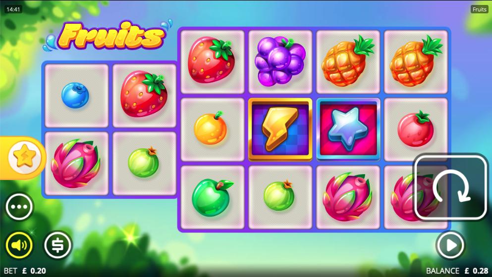 fruits screenshot