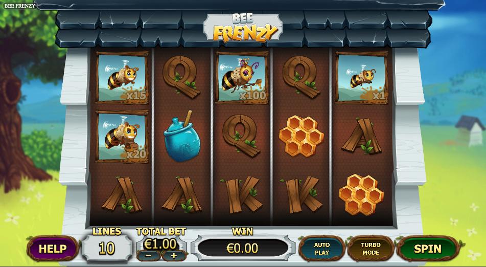 bee frenzy screenshot