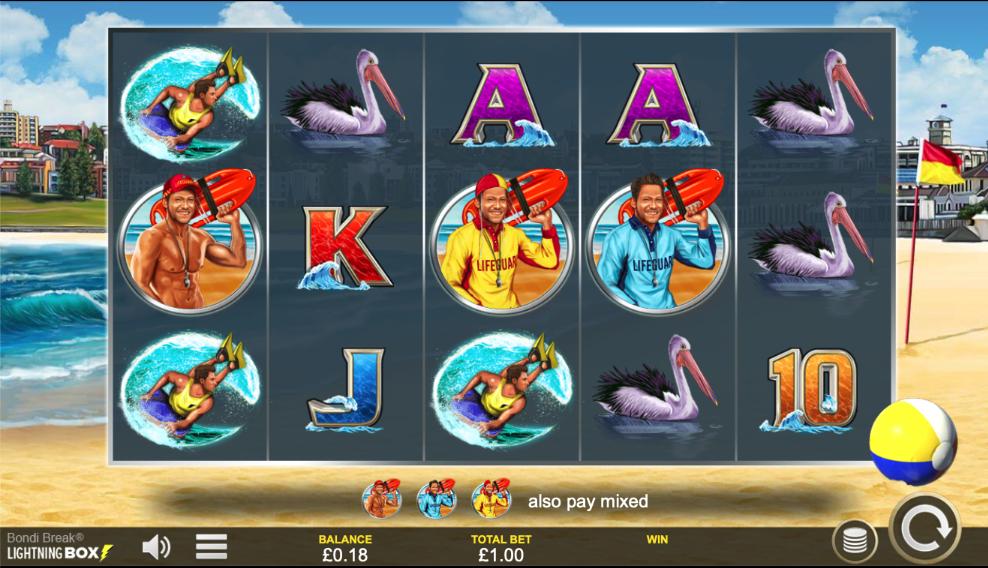 Bondi break screenshot