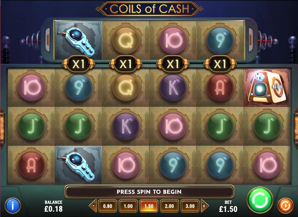 coils of cash screenshot