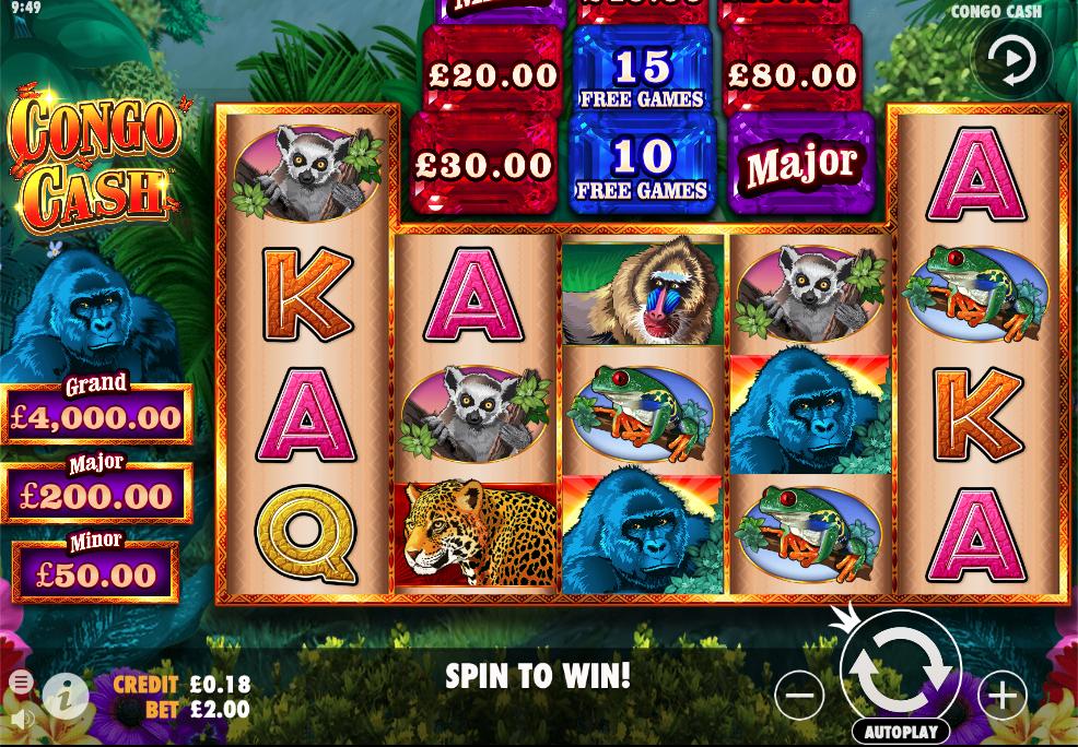Congo cash screenshot