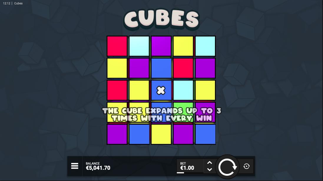 cubes screenshot