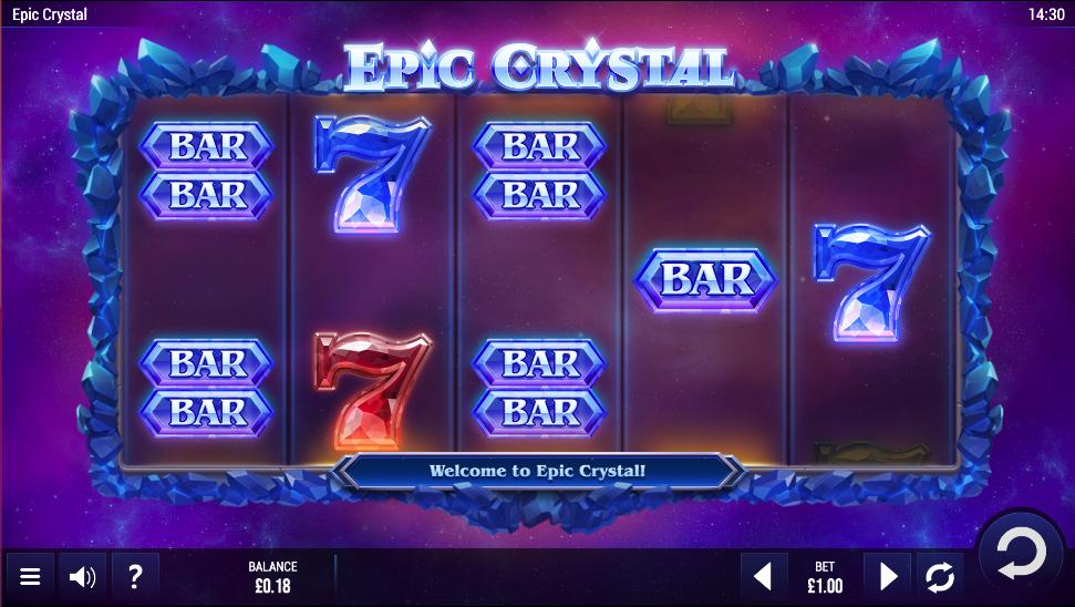 epic crystal screenshot