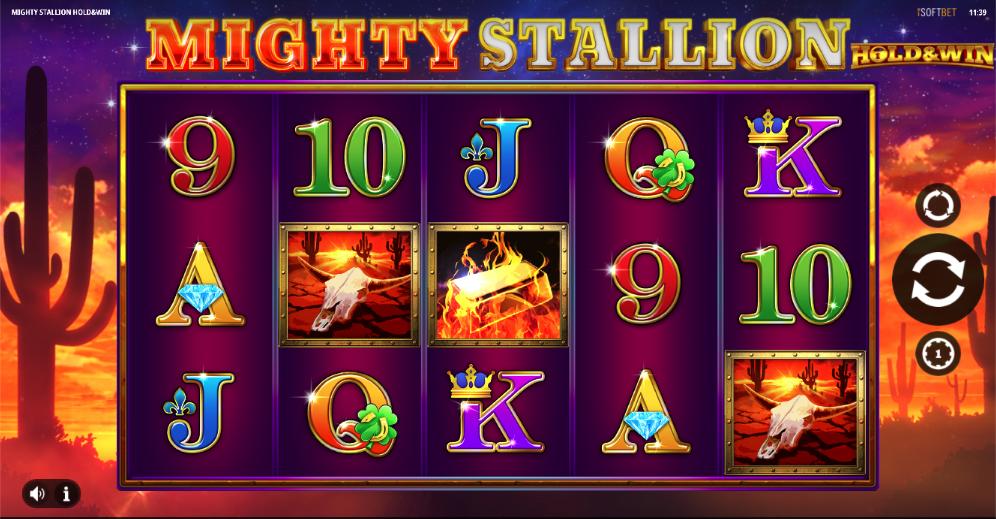 mighty stallion screenshot
