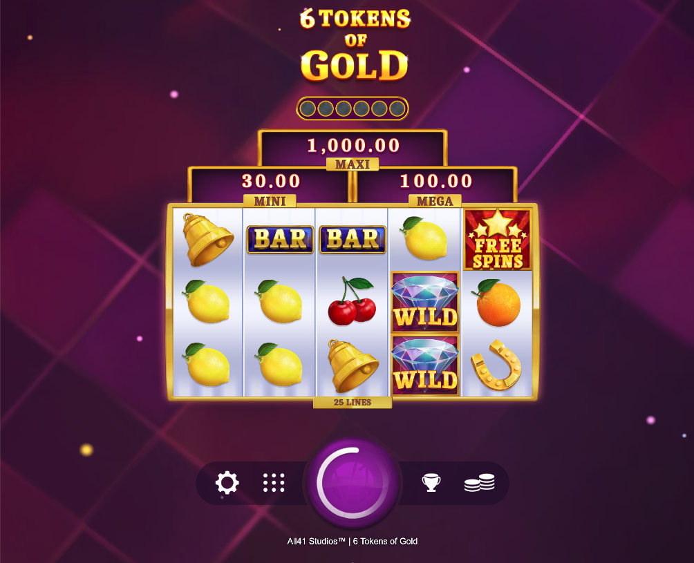 6 tokens of gold screenshot