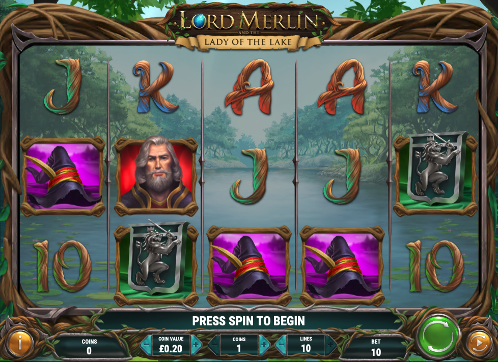 lord merlin and the lady of the lake screenshot