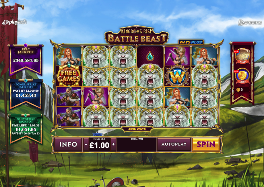 kingdoms rise battle beasts screenshot