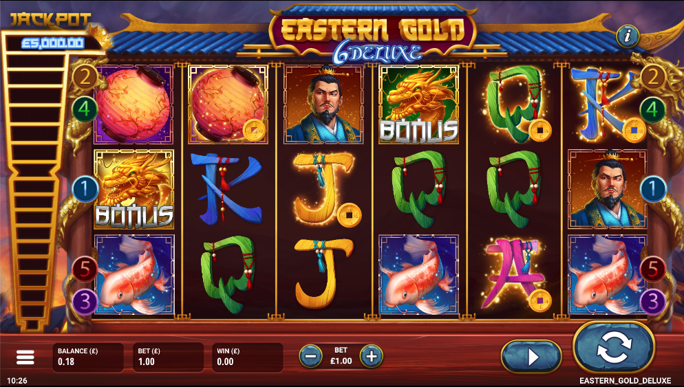 eastern gold deluxe screenshot