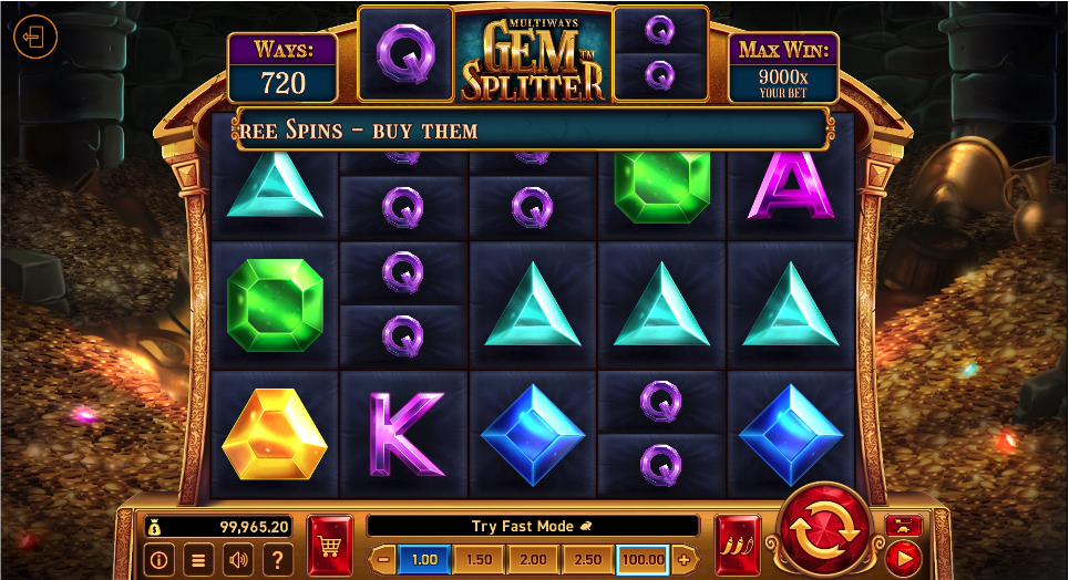 gem splitter screenshot